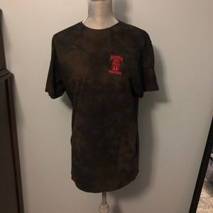 Bleach Dyed Death Row Records Tee